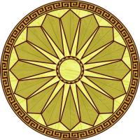 Rosette for parquet R-001 (Elite Ukraine parquet)