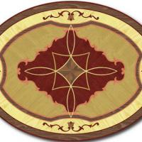 Rosette for parquet   R-004 (Elite Ukraine parquet)