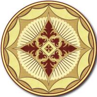 Rosette for parquet   R-009 (Elite Ukraine parquet)