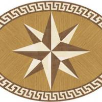 Rosette for parquet   R-011-oval (Elite Ukraine parquet)