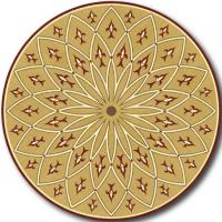 Rosette for parquet   R-014 (Elite Ukraine parquet)