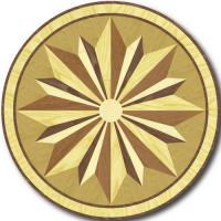 Rosette for parquet   R-015 (Elite Ukraine parquet)