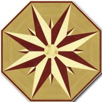 Rosette for parquet   R-019 (Elite Ukraine parquet)