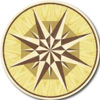 Rosette for parquet   R-021 (Elite Ukraine parquet)