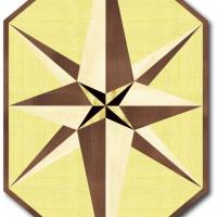 Rosette for parquet   R-024 (Elite Ukraine parquet)