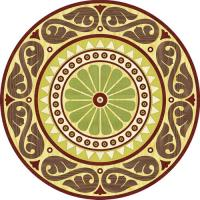 Rosette for parquet   R-034 (Elite Ukraine parquet)