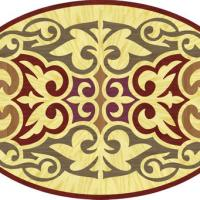 Rosette for parquet   R-039-1 (Elite Ukraine parquet)