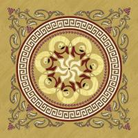 Rosette for parquet   R-042 (Elite Ukraine parquet)