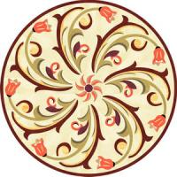 Rosette for parquet   R-046 (Elite Ukraine parquet)