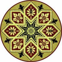 Rosette for parquet   R-050 (Elite Ukraine parquet)