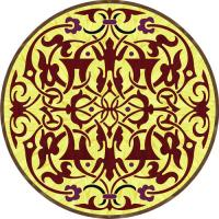 Rosette for parquet   R-053 (Elite Ukraine parquet)