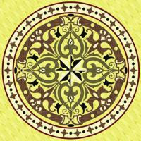 Rosette for parquet   R-057 (Elite Ukraine parquet)