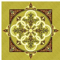 Rosette for parquet   R-058 (Elite Ukraine parquet)