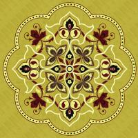 Rosette for parquet   R-060 (Elite Ukraine parquet)