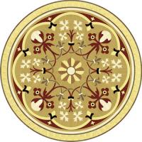 Rosette for parquet   R-063 (Elite Ukraine parquet)