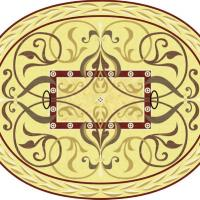 Rosette for parquet   R-066 (Elite Ukraine parquet)
