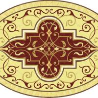 Rosette for parquet   R-068 (Elite Ukraine parquet)