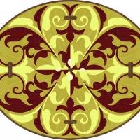 Rosette for parquet   R-070 (Elite Ukraine parquet)