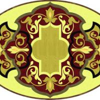 Rosette for parquet   R-072 (Elite Ukraine parquet)