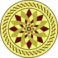 Rosette for parquet   R-076 (Elite Ukraine parquet)