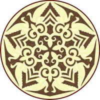 Rosette for parquet   R-078 (Elite Ukraine parquet)