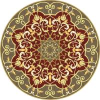 Rosette for parquet   R-080 (Elite Ukraine parquet)