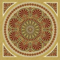 Rosette for parquet   R-083 (Elite Ukraine parquet)
