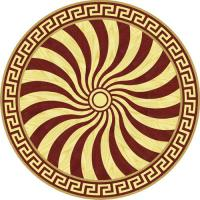 Rosette for parquet   R-085 (Elite Ukraine parquet)