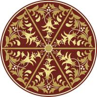 Rosette for parquet   R-086 (Elite Ukraine parquet)