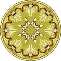 Rosette for parquet R-090 (Elite Ukraine parquet)