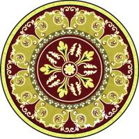 Rosette for parquet   R-093 (Elite Ukraine parquet)