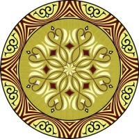 Rosette for parquet   R-094 (Elite Ukraine parquet)
