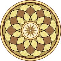 Rosette for parquet   R-098 (Elite Ukraine parquet)