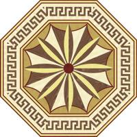 Rosette for parquet   R-111 (Elite Ukraine parquet)