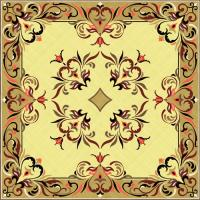Rosette for parquet   R-124 (Elite Ukraine parquet)