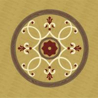 Rosette for parquet   R-125 (Elite Ukraine parquet)