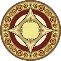 Rosette for parquet   R-126 (Elite Ukraine parquet)