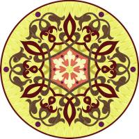 Rosette for parquet   R-135 (Elite Ukraine parquet)