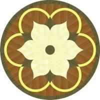 Rosette for parquet   R-142 (Elite Ukraine parquet)