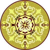 Rosette for parquet   R-143 (Elite Ukraine parquet)