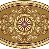 Rosette for parquet   R-147 (Elite Ukraine parquet)